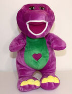 4th Knockoff Singing I Love You Barney with Heart