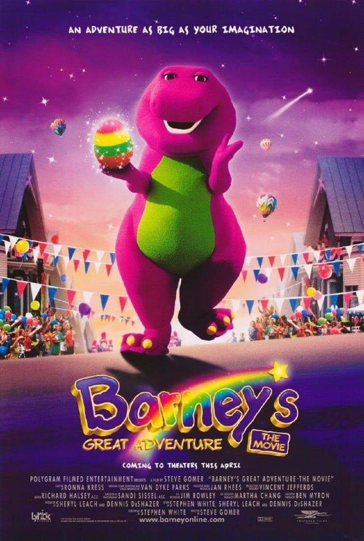 Barney's Great Adventure | Barney Wiki | FANDOM powered by Wikia