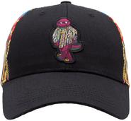 Sprayground-biggie-barney-hat-front