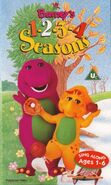 Barney's 1-2-3-4 Seasons 1996 UK VHS