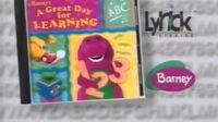 Barney's A Great Day for Learning Promo