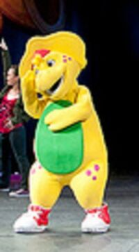 Barney Live First BJ Costume