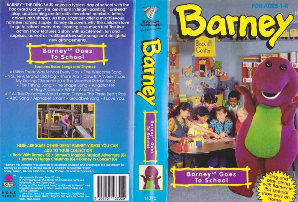 Image - Barney gos to school AUS.jpg | Barney Wiki | FANDOM powered ...