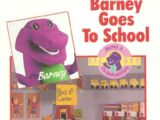 Barney Goes to School