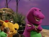 Barney's Beach Party
