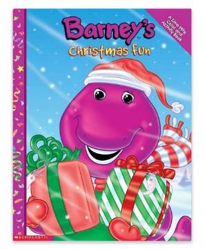 Image - Barney\'s Christmas Fun Coloring Book.png | Barney Wiki ...