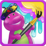 Color with Barney