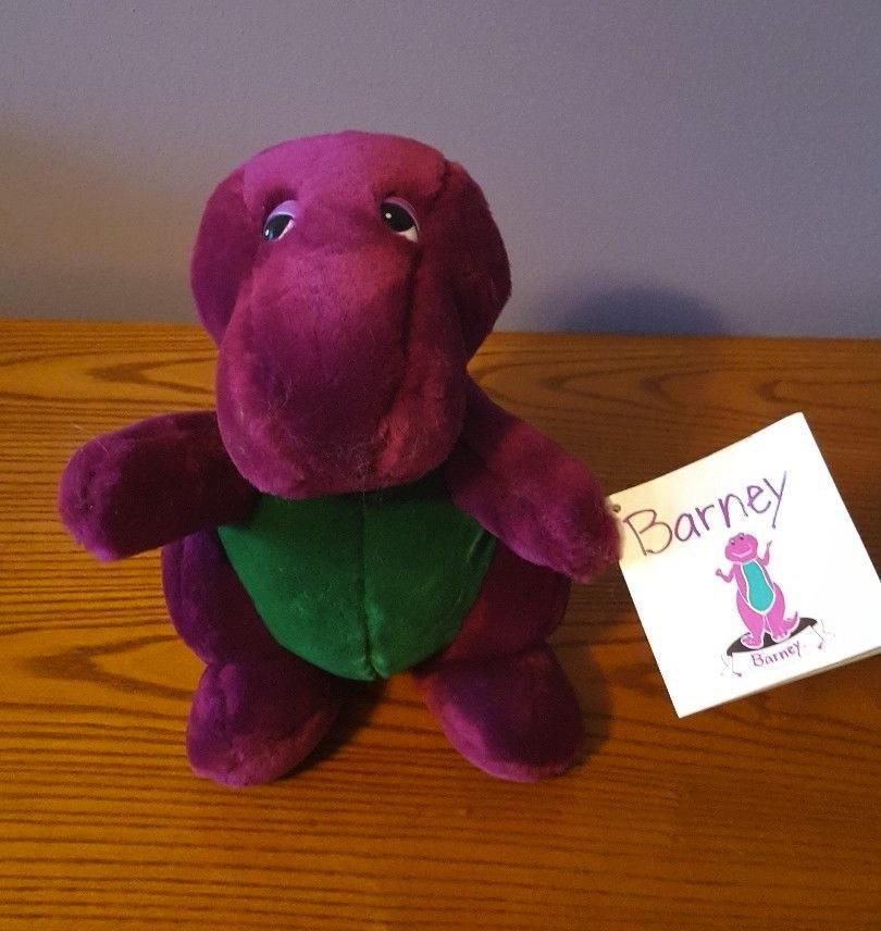 Backyard Gang Barney Plush (Dakin)   Barney Wiki   FANDOM ...