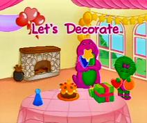 Let'sdecorateactivity