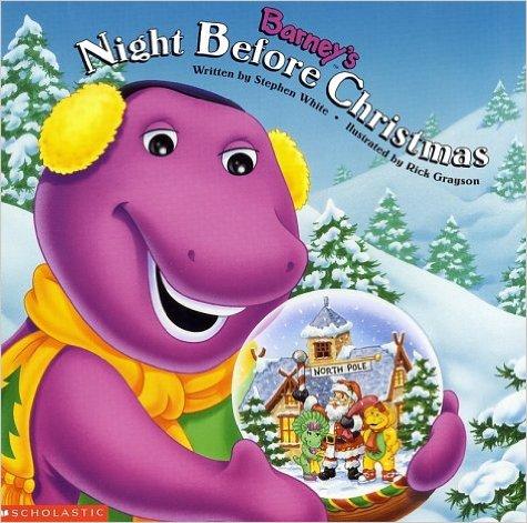 barneys night before christmas book