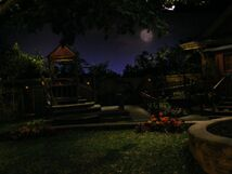 The Park with night fall