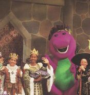 Behind the Scenes - Barney's Once Upon A Time