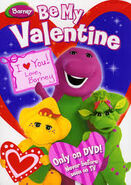 Be My Valentine, Love Barney (DVD) Cover