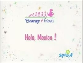 Hola, Mexico! Title Card