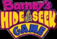 Barneys hide seek game logo
