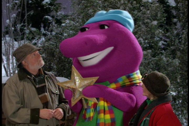 Barney A Very Merry Christmas The Movie Dvd.Barney S Christmas Star Barney Wiki Fandom Powered By Wikia