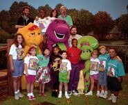 Barney & Friends Season 2 Cast & Crew