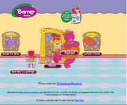 The Barney Halloween Website in 1999