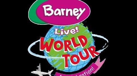 Barney Live! World Tour - A Celebration! (Promo, Yanbu)