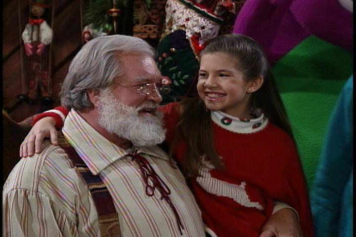 look into santas book - The Night Before Christmas Cast
