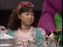 Min As A Princess During Tea Medley In --Barney's Magical Muscial Adventure--