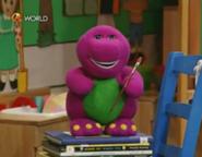 BarneydollfromHavingFunwithArts&Crafts!
