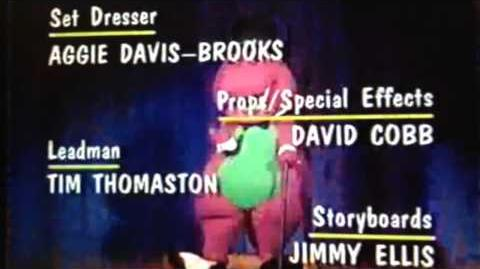 Barney End Credits (Barney in Outer Space's version)