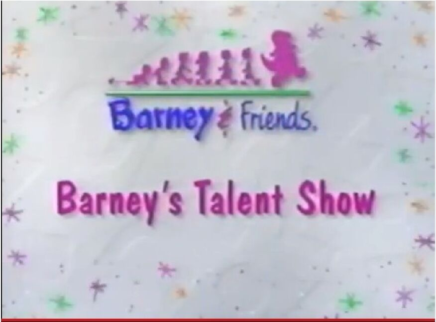 Clip from It's Tradition! and Audio from Barney's Talent Show