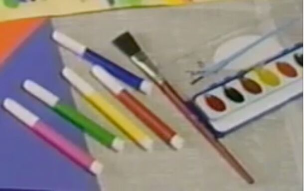 Paint Brushes Number 1! From Going Places! (BOB SINGLETON!) (Poke your eye! - Be My Valentine! Love Barney! 90 Credit Bed Here (SAD!!!) Too Short Legs, Dancing!
