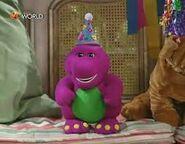 BarneydollfromRobert'sbirthday!