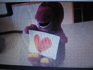 Hearts of Picture Love You Barney