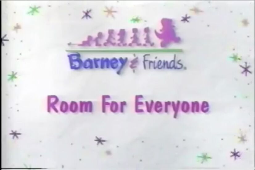 Room For Everyone Title Card - Barney Theme Song (Room for Everyones version) (Clip from A Package of Friendship! and Audio from Room for Everyone!)