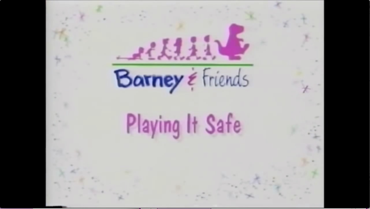 Playing It Safe BarneyFriends Wiki FANDOM Powered By Wikia - Barney concert part 1