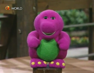BarneydollfromGrandparentsDay!