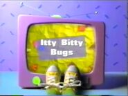 Itty Bitty Bugs! Title Card - Once A Pond A Time