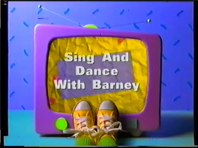 Sing And Dance With Barney Title Card - After the