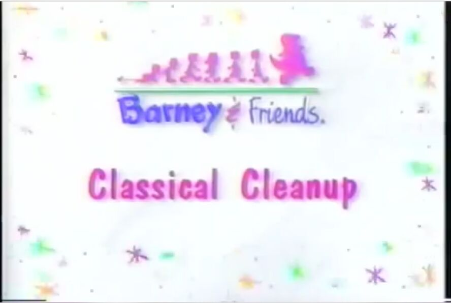 Barney comes to play (Good Job!) (Clip from Classical Cleanup and Audio from Good Job!)