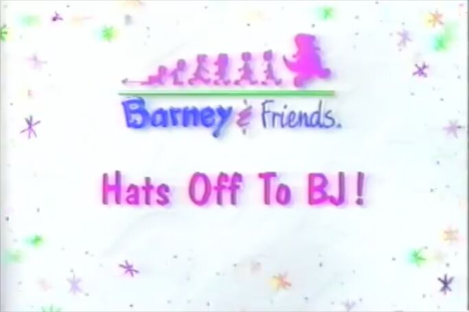 Hats Off To BJ! Title Card - Same as Hola, Mexico!!!!!!!!!!