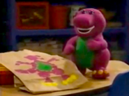 Picture of Barney Dinosaur