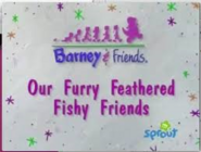 Our Furry Feathered Fishy Friends! Tittle Card