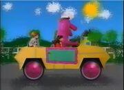 Riding In Barney's Car