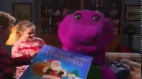 Barney Waiting For Santa - Clip