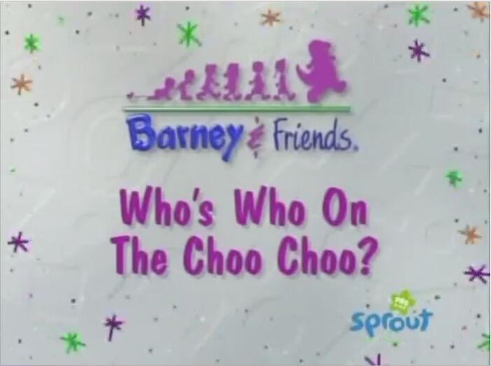 Who's Who On The Choo-Choo? Title Card - PBS Kids Sprout!