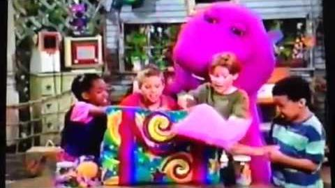 barney the barney bag if the shoe fits s version