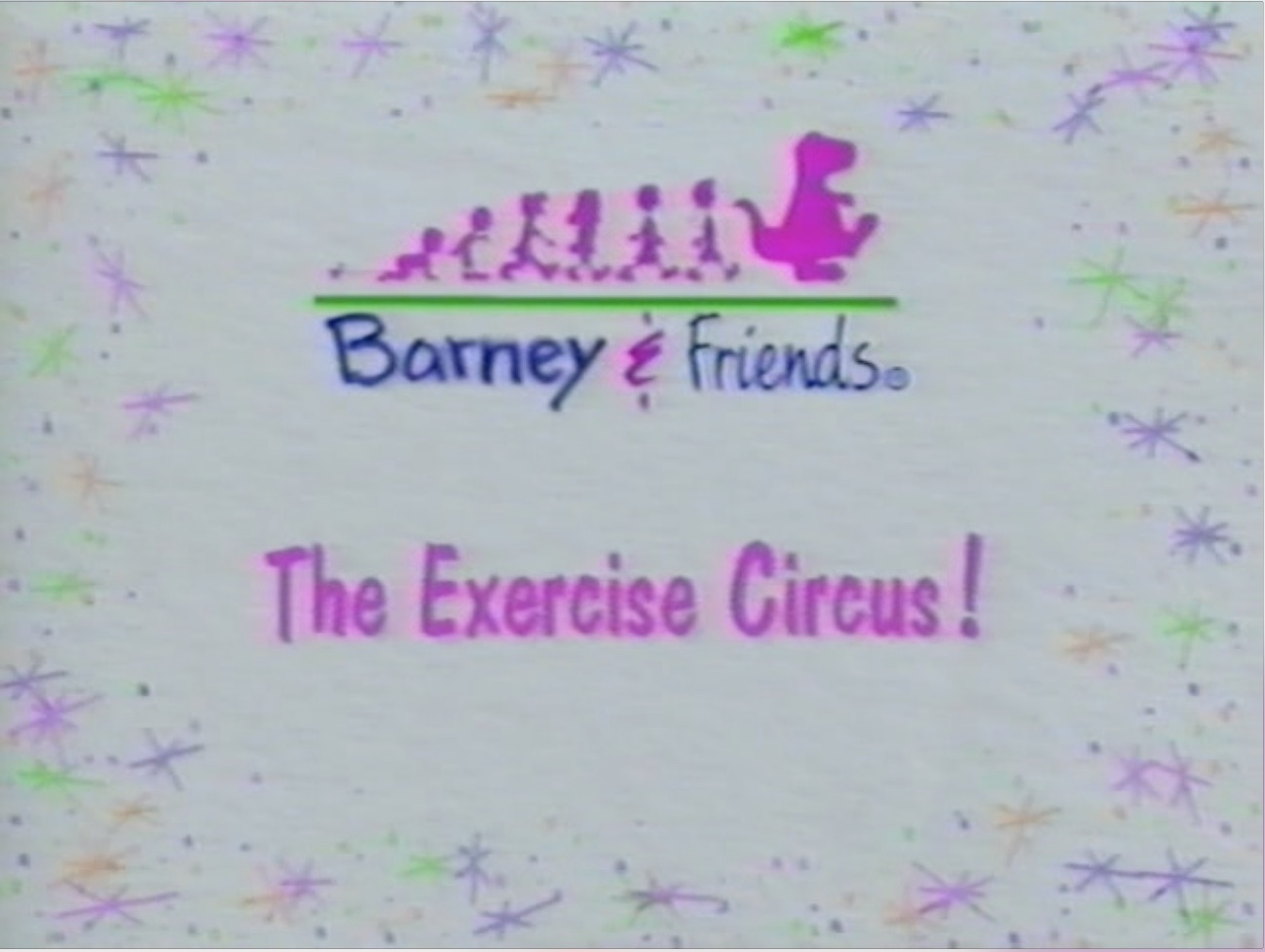 barney u0027s exercise circus barney u0026friends wiki fandom powered by