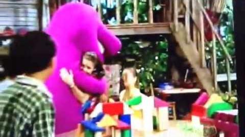 Hi Hannah and Emily (Barney's Sense-Sational Day!)