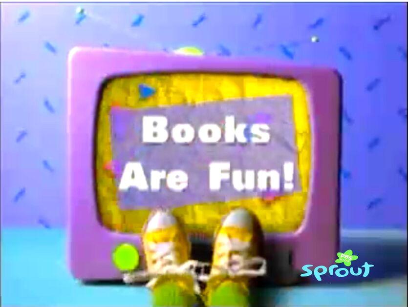 Books Are Fun! Title Card!!!!!!!!!!