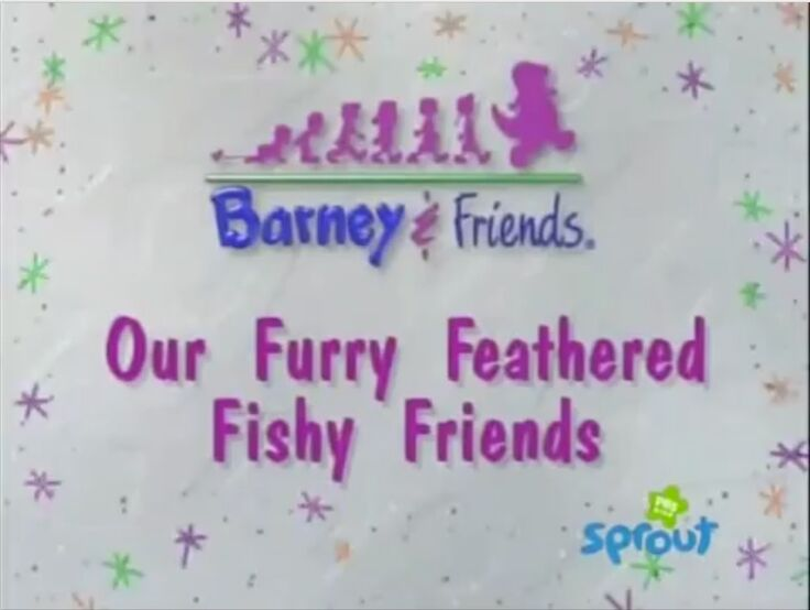 Wearing Glasses For Sun For The Outer Space! (Clip and audio from Barney in Outer Space and Audio from Our Furry Feathered Fishy Friends!) (July 31, 2015!)
