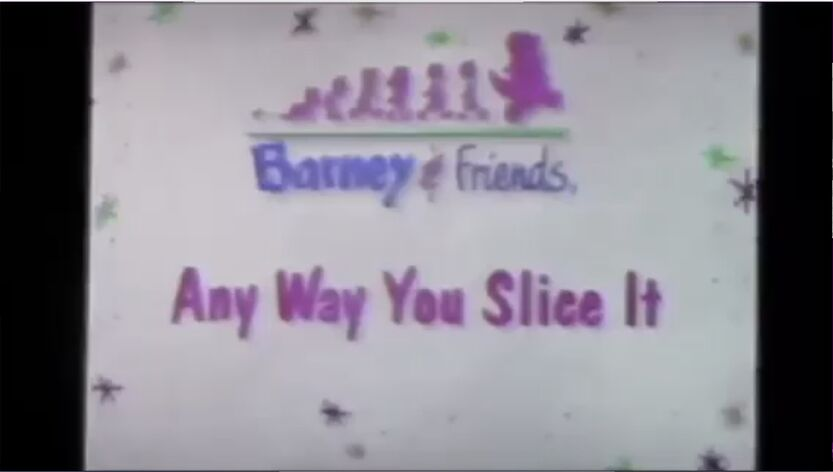 Any Way You Slice It Title Card From Playing It Safe