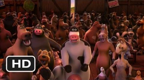 Barnyard (5 10) Movie CLIP - Let's Boogie! (2006) HD